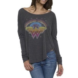 Vintage Wonder Woman Junk Food Tee T Shirt Small